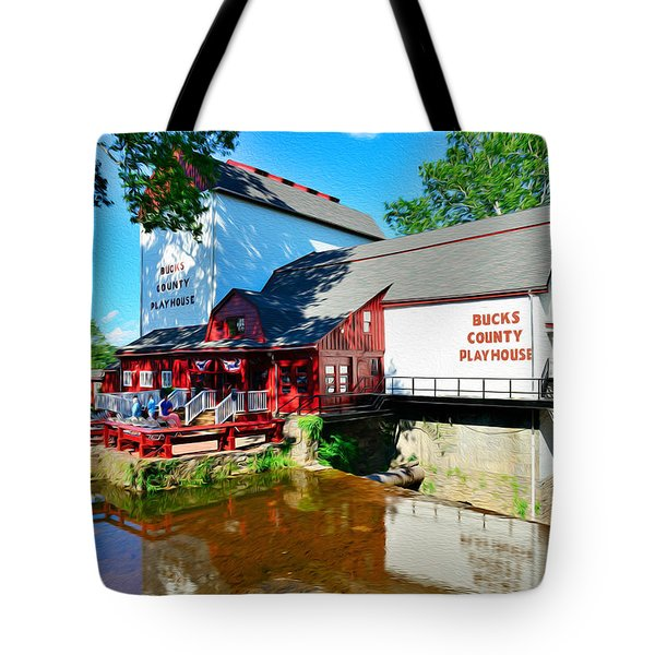 Bucks County Playhouse Tote Bag