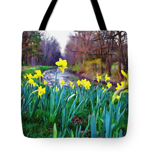 Bucks County Spring Tote Bag by Bill Cannon