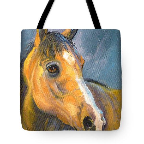 Buckskin Sport Horse Tote Bag