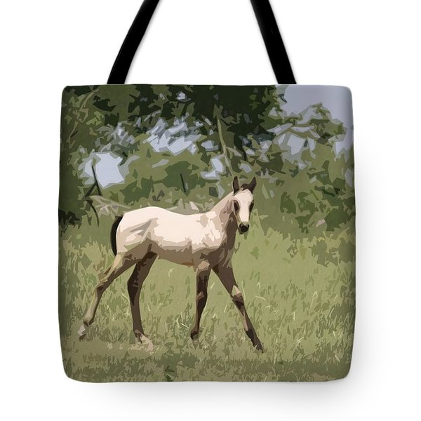Buckskin Pony Tote Bag