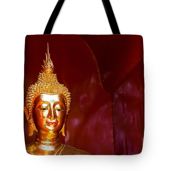 Tote Bag featuring the photograph Buddha Bliss by Sonny Marcyan
