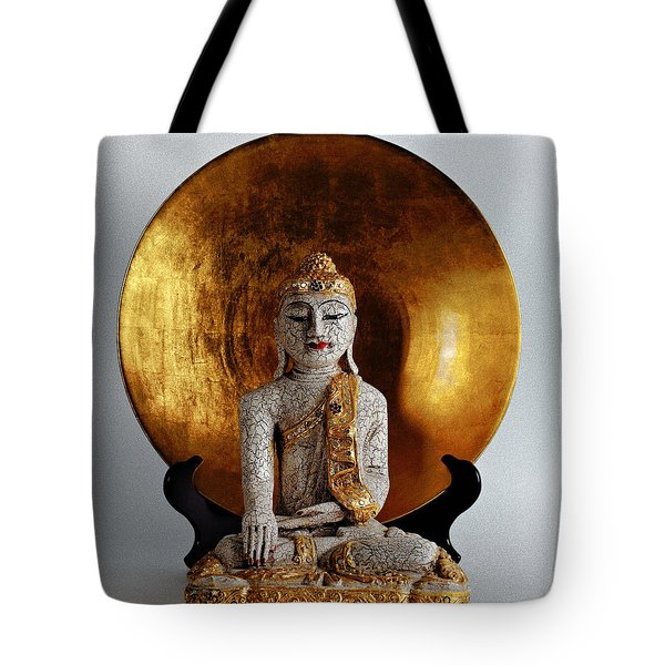 Buddha Girl Tote Bag