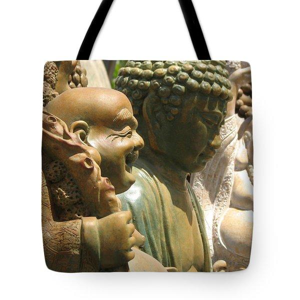 Buddha Tote Bag by Jan Cipolla