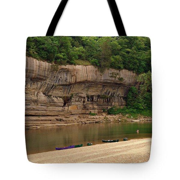 Buffalo Bluffs 1 Tote Bag by Marty Koch