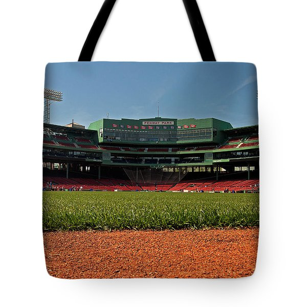 Bugs Eye View From Center Field Tote Bag by Paul Mangold