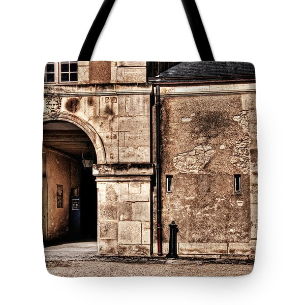Building In France Tote Bag by Charuhas Images