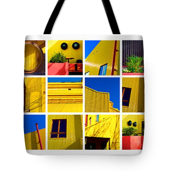 Building Mosaic  Tote Bag by Mauro Celotti