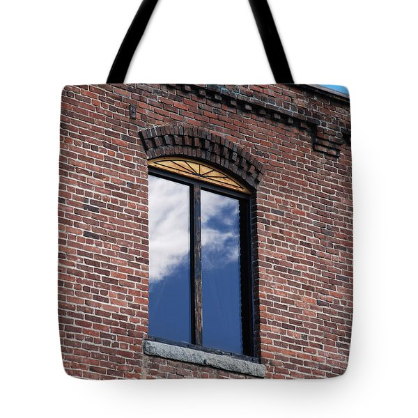 Tote Bag featuring the photograph Building Series - Sky Views by Kathleen Grace