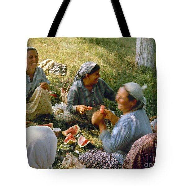 Bulgaria: Peasants Tote Bag by Granger