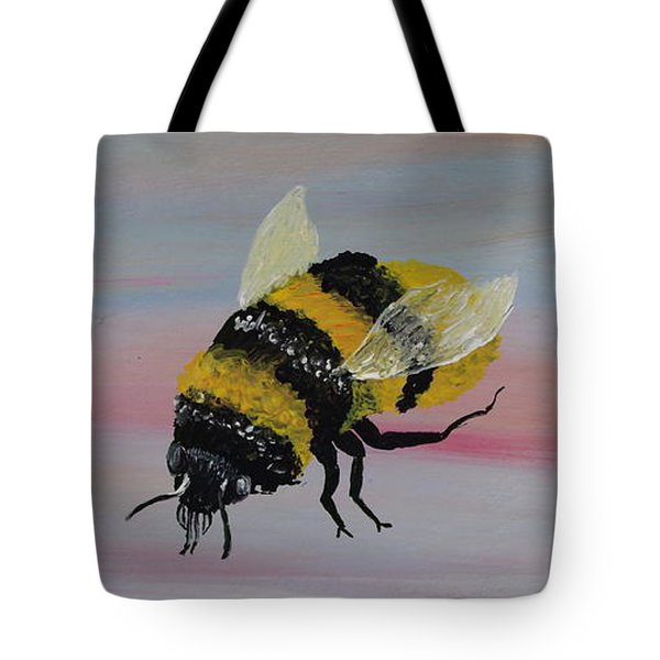Bumble Bee Tote Bag by Mark Moore