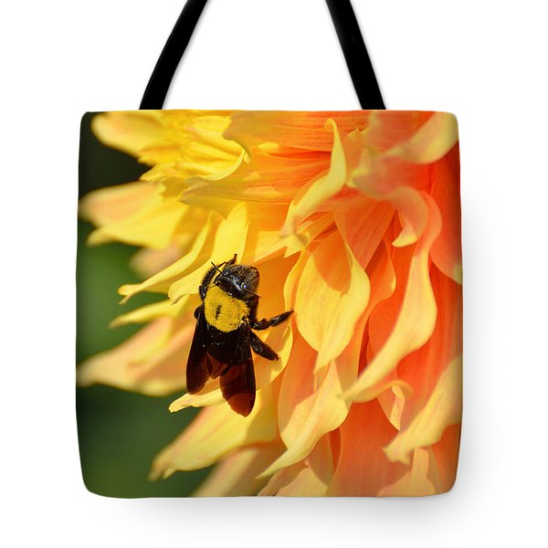 Bumblebee Tote Bag by Fotosas Photography
