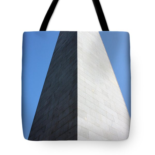 Bunker Hill Monument Tote Bag by Kristin Elmquist