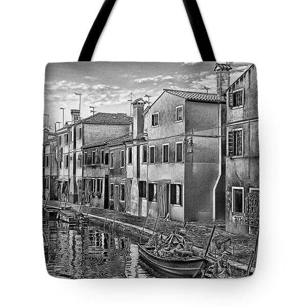 Burano 3 Tote Bag by Mauro Celotti