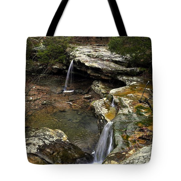 Burden Falls Tote Bag by Marty Koch
