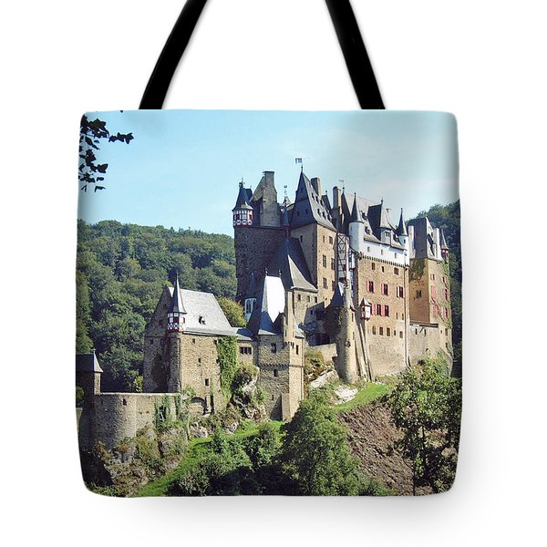 Burg Eltz In Profile Tote Bag by Joseph Hendrix