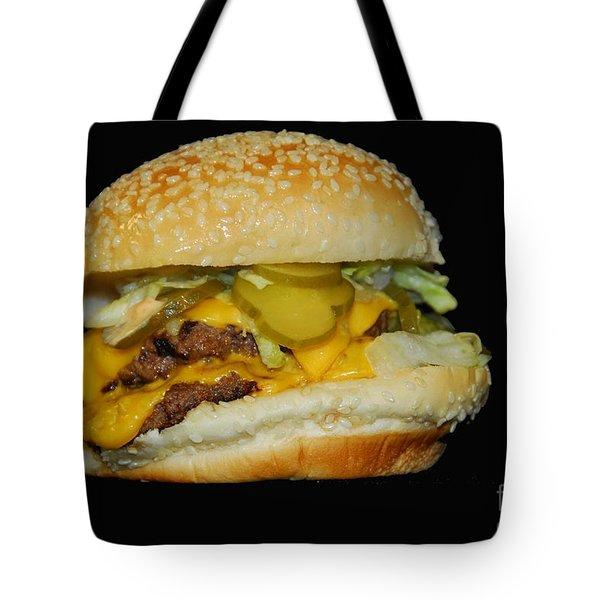 Burgerlicious Tote Bag by Cindy Manero
