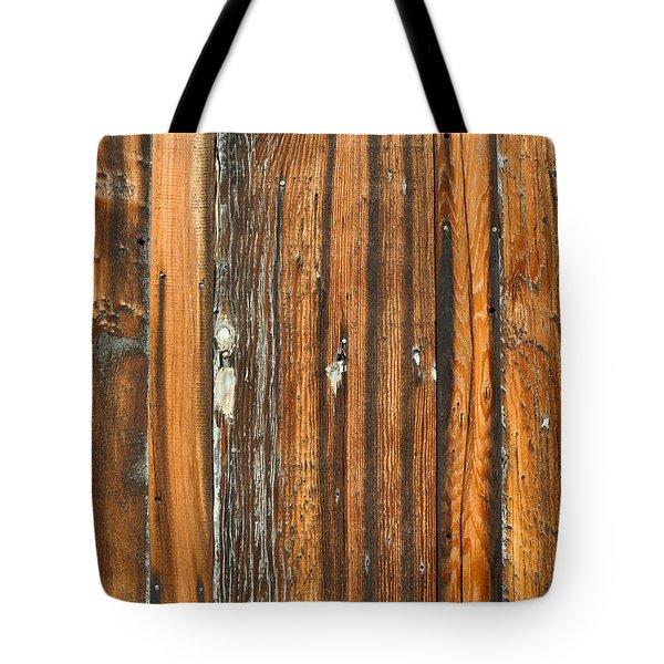 Burned Wood Grunge Background Tote Bag