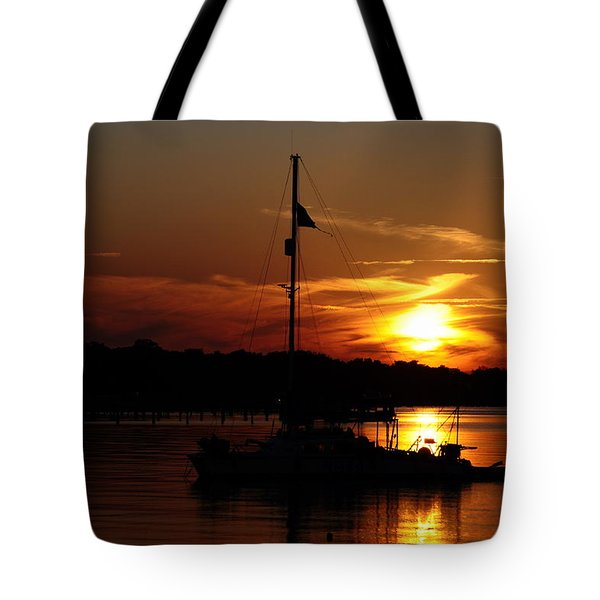 Burning Daylight Tote Bag by Tiffney Heaning