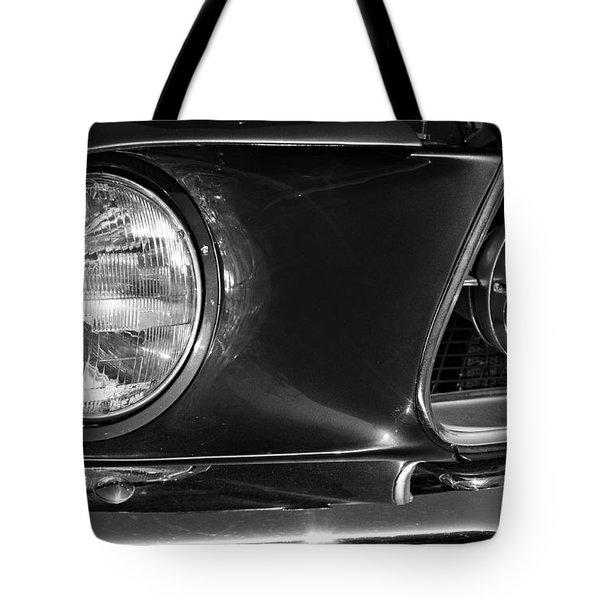 Burnt Rubber Tote Bag by Luke Moore
