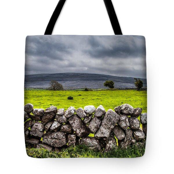Burren Stones Tote Bag by Juergen Klust