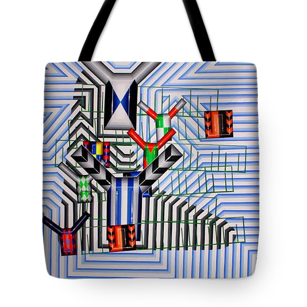 Tote Bag featuring the painting Burwood Breeze by Mark Howard Jones