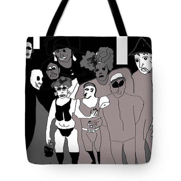 Bus Stop New Orleans Tote Bag