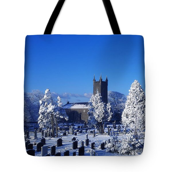 Bushmills Church, County Antrim Tote Bag by The Irish Image Collection