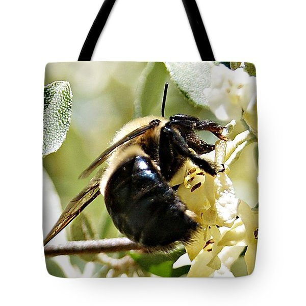 Busy As A Bee Tote Bag by Joe Faherty