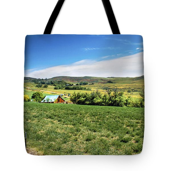 Butte Ranch Tote Bag by Robert Bales