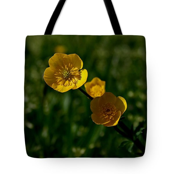 Buttercups Tote Bag by Karen Harrison