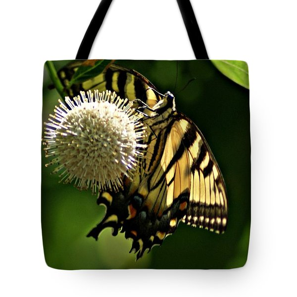 Butterfly 2 Tote Bag by Joe Faherty