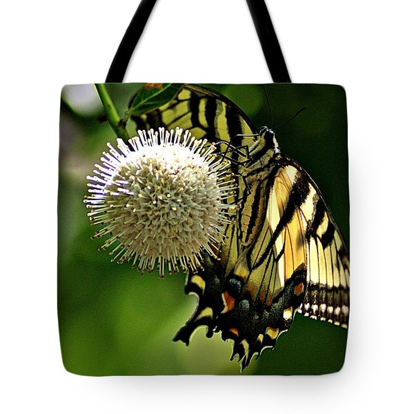 Butterfly 3 Tote Bag by Joe Faherty
