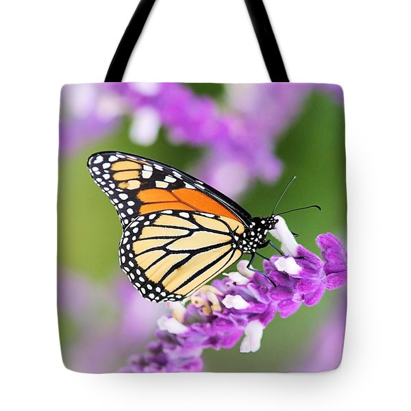 Butterfly Beauty Tote Bag by Elizabeth Budd