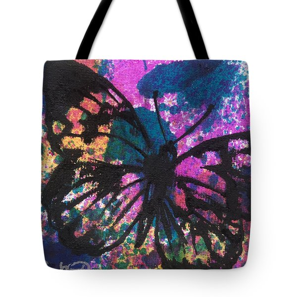 Butterfly Bliss Tote Bag by Oddball Art Co by Lizzy Love