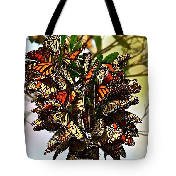 Butterfly Bouquet Tote Bag