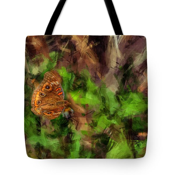 Tote Bag featuring the photograph Butterfly Camouflage by Dan Friend