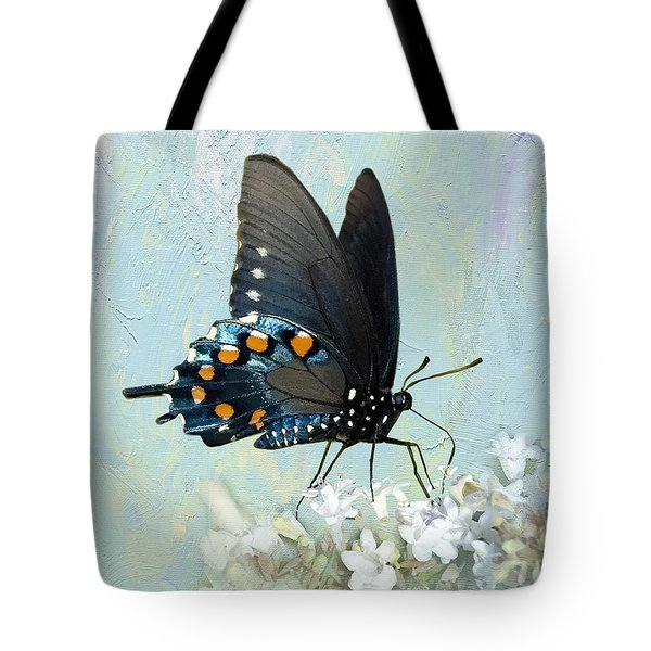 Butterfly Candy Tote Bag by Betty LaRue
