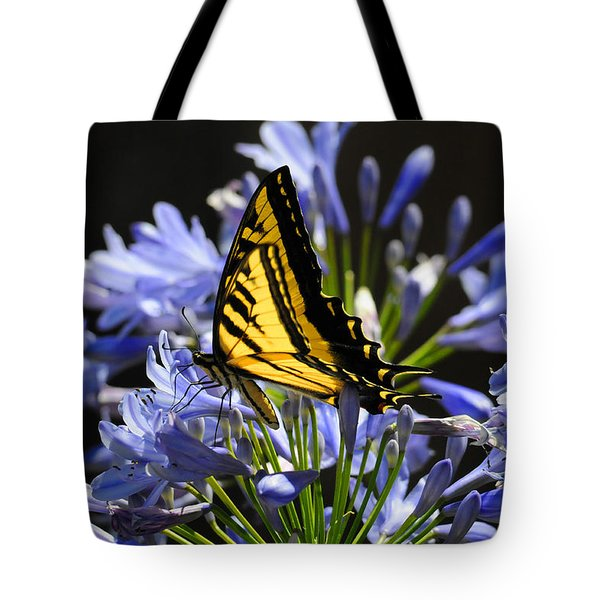 Butterfly Catcher Tote Bag by Lynn Bauer