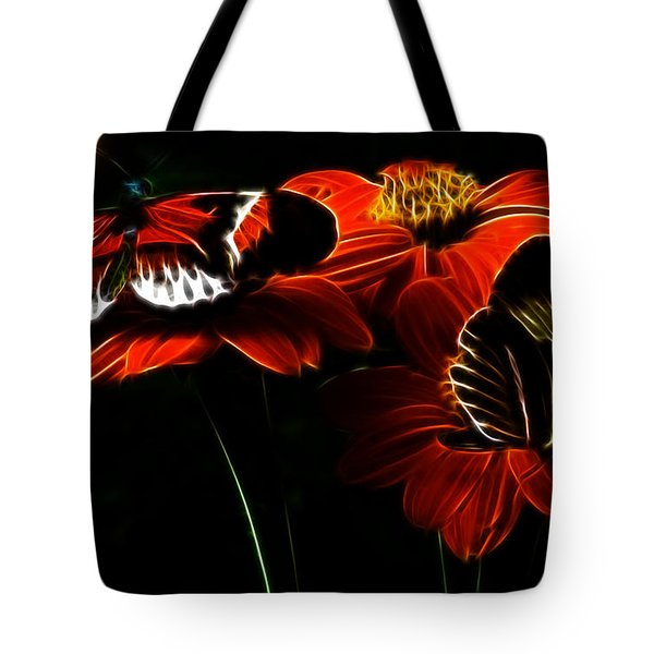 Butterfly Duet Tote Bag