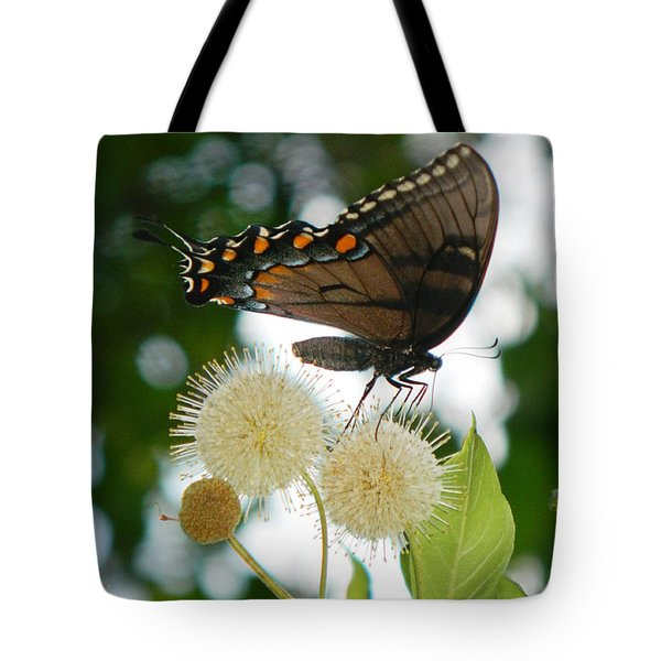 Tote Bag featuring the photograph Butterfly II by Ester  Rogers