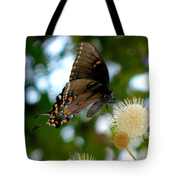 Tote Bag featuring the photograph Butterfly IIi by Ester  Rogers