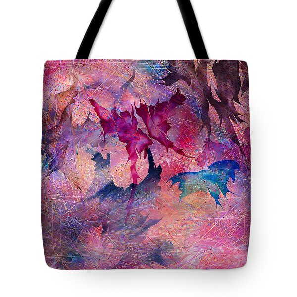 Butterfly Tote Bag by Rachel Christine Nowicki