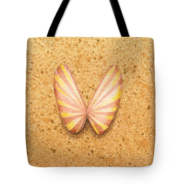 Butterfly Sea Shell Tote Bag