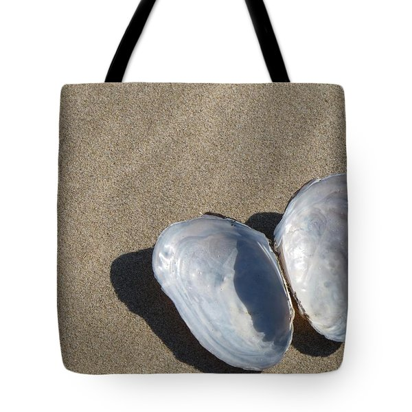 Tote Bag featuring the photograph Shells And Shadows by Maciek Froncisz