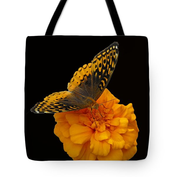 Butterfly Visitor Tote Bag by Cindy Manero