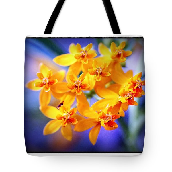 Butterfly Weed Tote Bag by Judi Bagwell