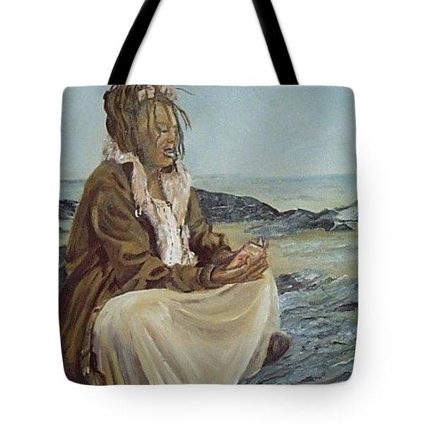 By The Shore Tote Bag by Joyce Reid