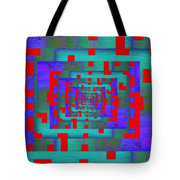 Byte Byway Tote Bag by Tim Allen