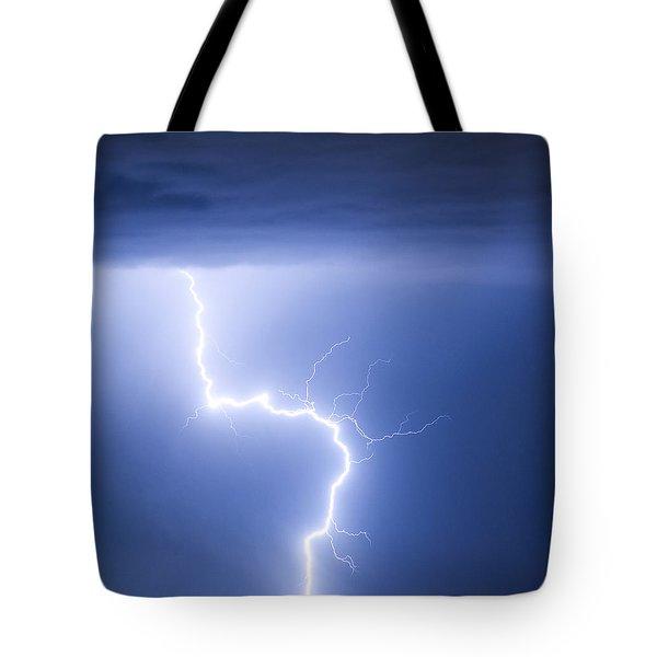C2g Lightning Strike Tote Bag by James BO  Insogna