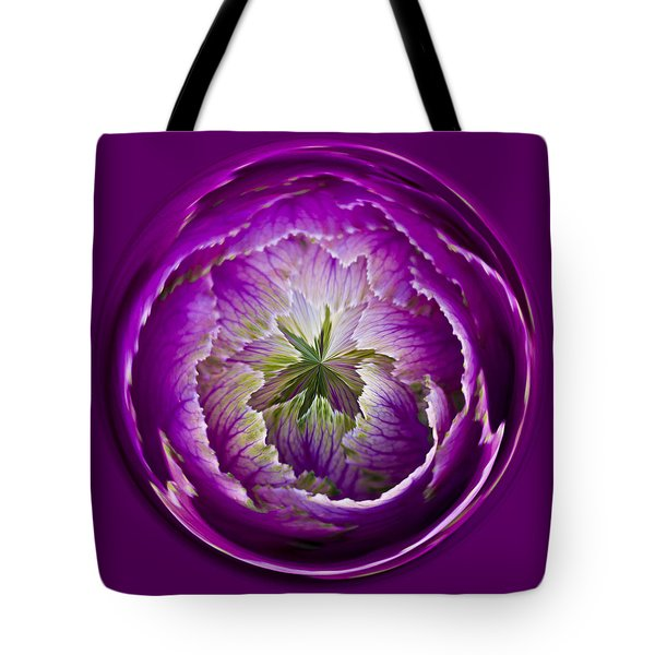Cabbage Orb Tote Bag